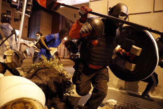 Manifestations violentes à St Louis, le 17 septembre.
