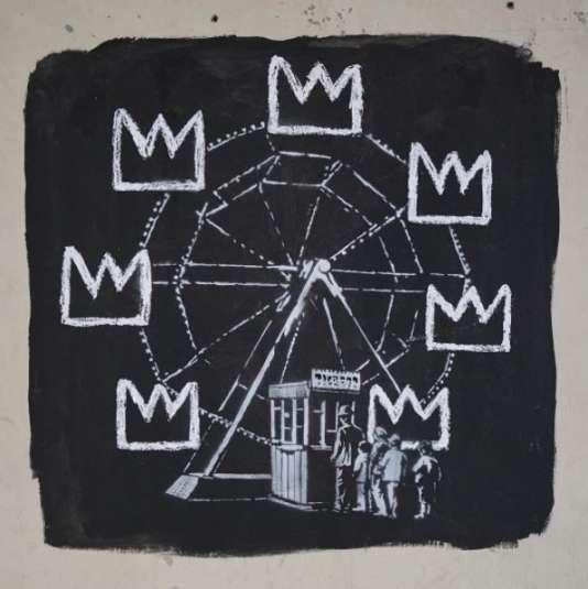 Fresque de Banksy à Londres.