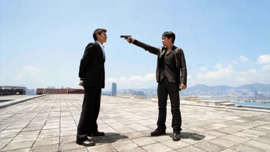 Tony Leung et Andy Lau dans «Infernal Affairs» d'Andy Lau et d'Alan Mak (2006).
