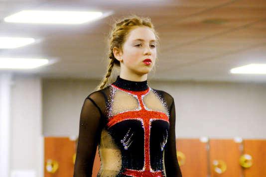 Sarah Bramms dans «Kiss &Cry», film français de Lila Pinell et Chloé Mahieu.