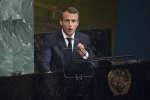 Le président de la République Emmanuel Macron s'est exprimé à New York lors de l'Assemblée générale de l'ONU.