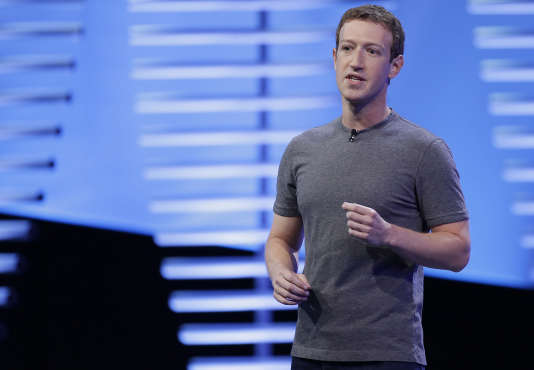 Mark Zuckerberg, le fondateur et patron de Facebook, en avril 2016.
