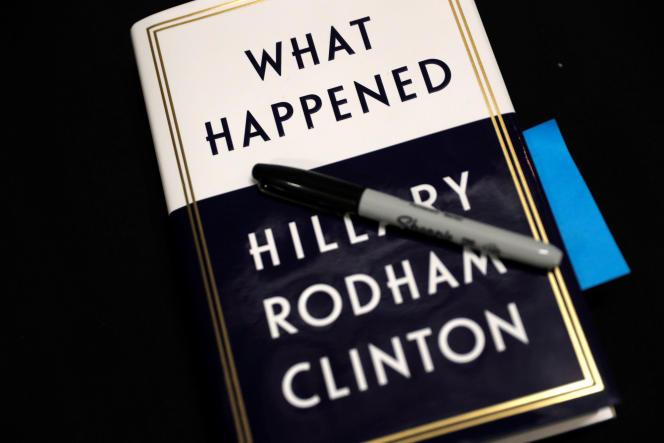 Le livre d'Hillary Clinton.