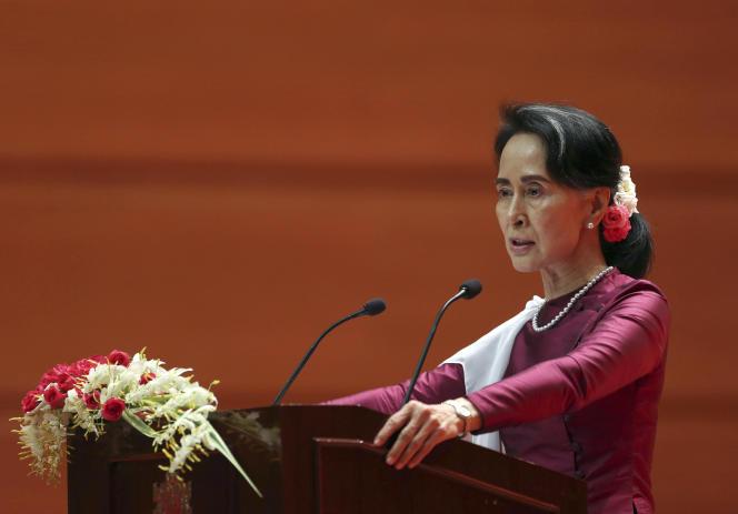 Aung San Suu Kyi, le 19 septembre
