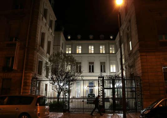 Le siège du Parti socialiste, rue de Solférino, à Paris, en 2012.