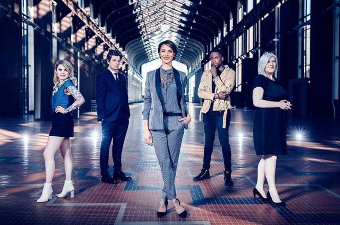 Shy'm et le jury de «Nouvelle Star» sur M6.