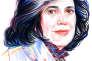 L'écrivaine américaine Susan Sontag.