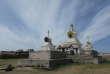 La «Stupa d'Or» d'Erdene Zuu à Karakorum.