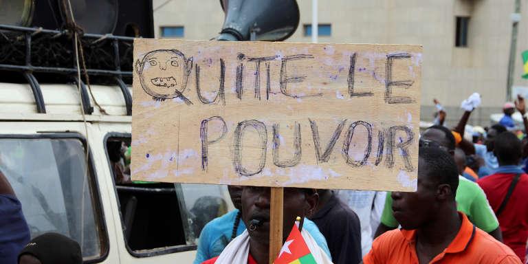 Les opposants à la réforme ont déjà défilé à Lomé, la capitale du pays, le 7 septembre dernier.