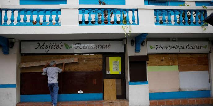 A San Juan, la capitale de Porto Rico, le 19 septembre.