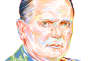 Le dirigeant yougoslave Tito.