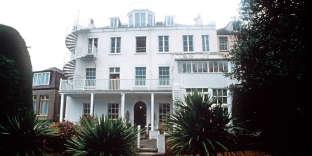 Hauteville House, la maison de Guernesey où Victor Hugo vécut de 1856 à 1870.