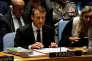 Emmanuel Macron, lors de la 72e Assemblée générale des Nations unies, le 20 septembre à New York.