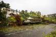 Dégâts à Petit-Bourg, en Guadeloupe, après le passage de l'ouragan Maria, le 19 septembre 2017.