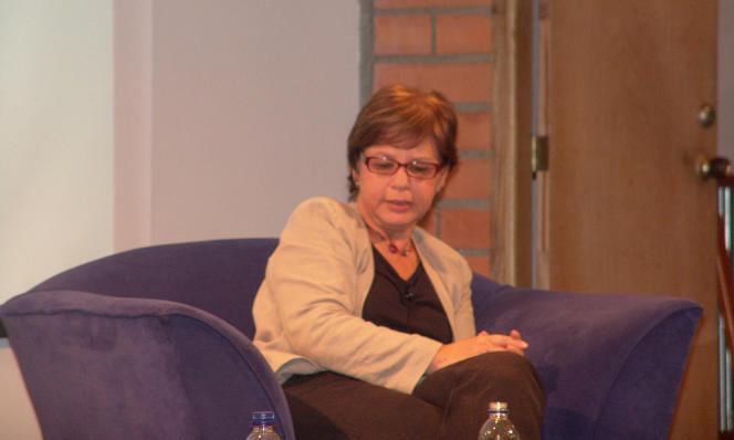 L'écrivaine colombienne Piedad Bonnett, en 2012.