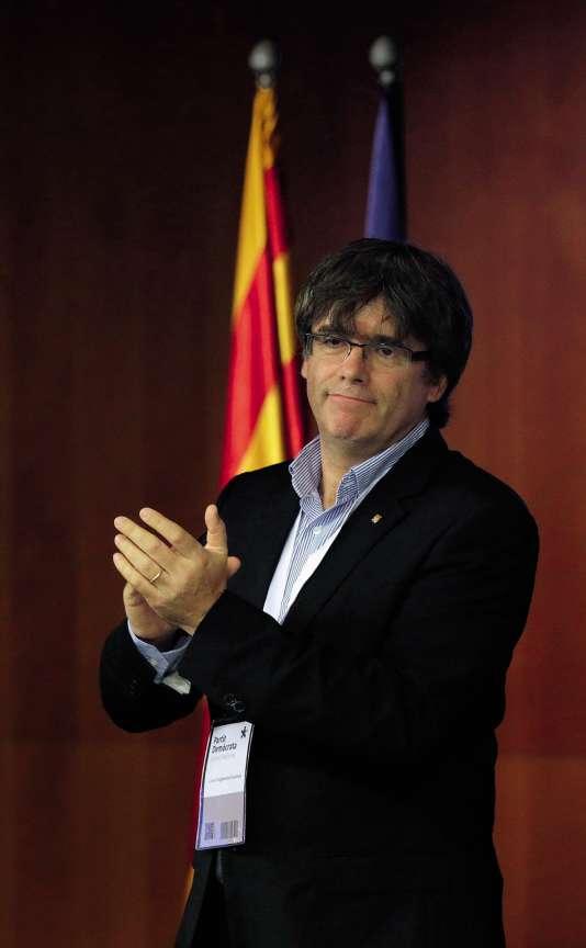 Carles Puigdemont, président de la Généralité de Catalogne.