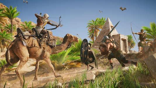 «Assassin's Creed Origins», disponible à la fin d'octobre sur PC, PlayStation 4 et Xbox One.