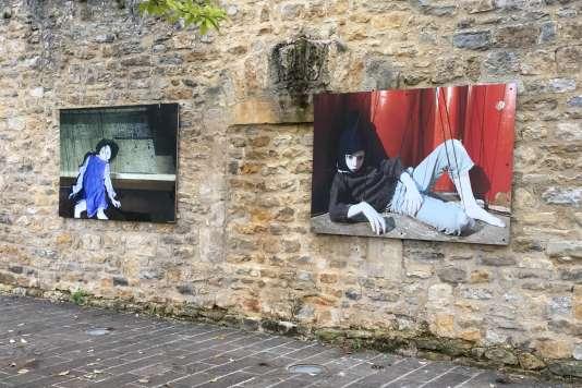 L'exposition de l'artisteAlice Laloy (compagnie S'appelle reviens),« Pinocchio(s)», à Charleville-Mézières en septembre 2017.