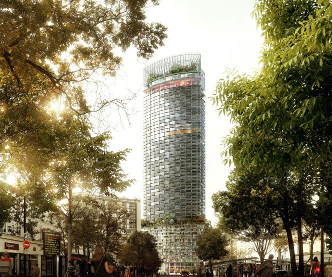 Projet de rénovation de la tour Montparnasse par le cabinet d'architectesNouvelle AOM.