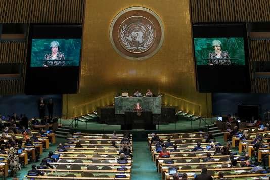 Emmanuel Macron et Donald Trump ont fait leurs premiers pas devant l'Assemblée générale des Nations unies, dans des discours très attendus.