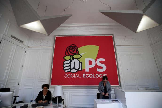 Le Parti socialiste va devoir se séparer de la moitié environ de ses effectifs. Le plan de sauvegarde de l'emploi doit être présenté aux représentants des salariés en début de semaine.