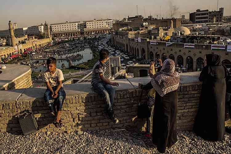 La citadelle d'Erbil, un joyau classé à l'Unesco.