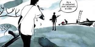 Case extraite de«L'Homme aux bras de mer. Itinéraire d'un pirate somalien», de Thomas Azuélos et Simon Rochepeau.