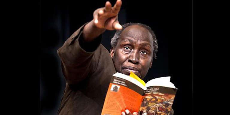 L'écrivain kényan de langue kikuyu et anglaise Ngugi Wa Thiong'o.