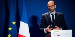 Edouard Philippe, premier ministre, lors de la 17e Conférence des villes, à Paris, le 20 septembre 2017.