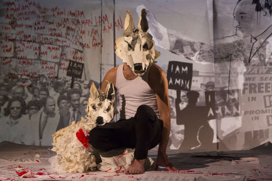 « White Dog », un spectacle de la compagnie Les Anges au plafond.