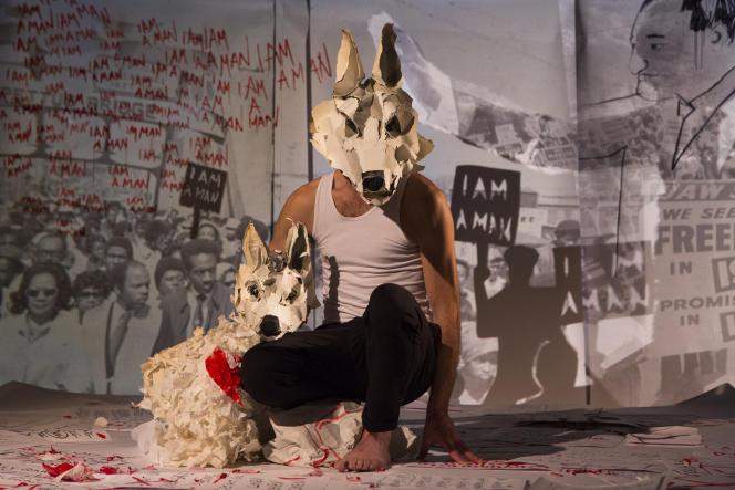 « White Dog», un spectacle de la compagnie Les Anges au plafond.