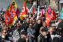 Manifestation contre la réforme du code du travail, à Paris, le 21 septembre.