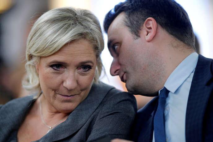 Florian Philippot et Marine Le Pen, en novembre 2016.