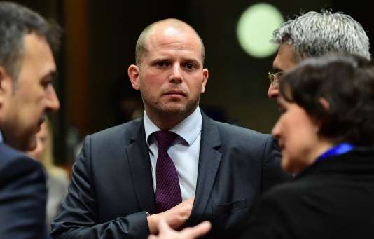 Theo Francken, le secrétaire d'Etat belge à la migration, en décembre 2016.