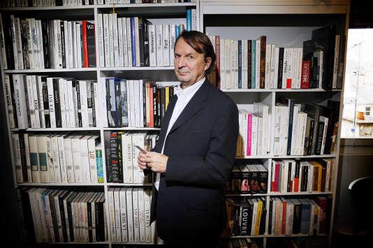 Hervé de La Martinière, patron de La Martinière Groupe, en décembre 2009, à Paris.