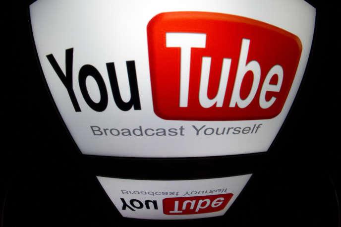 Le logo de YouTube, en décembre 2012.