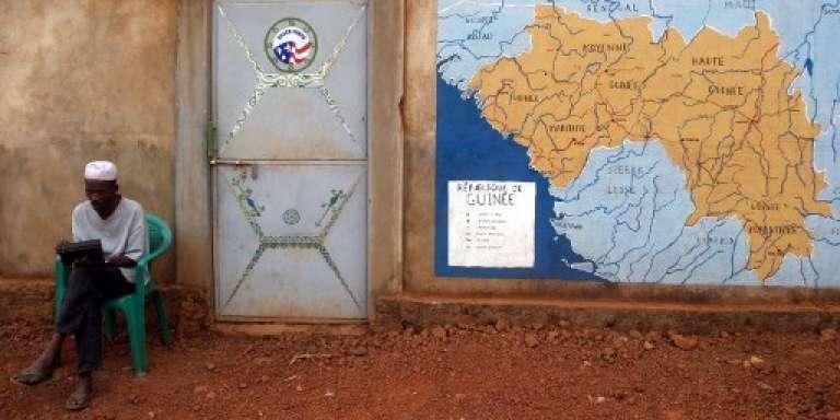 A Labé, dans le centre de la Guinée, en mai 2005.