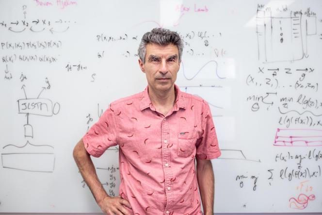 Yoshua Bengio, à l'université de Montréal, le 27 juillet.