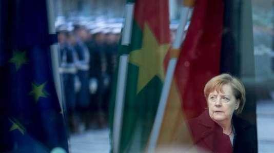 « Angela Merkel, une histoire allemande»,de Virginie Linhart