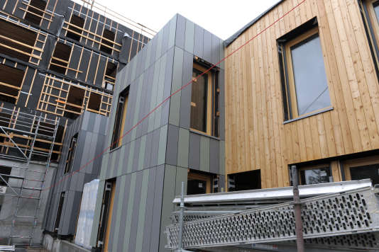 La construction en bois prend de la hauteur en france for Construction bois 21