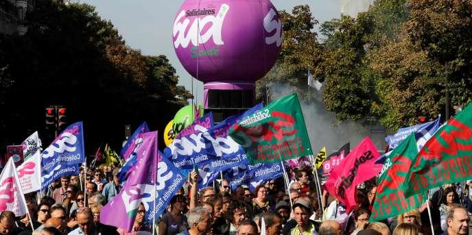 L'union des syndicats Solidaires (SUD) fait partie des syndicats organisateurs de la manifestation du 21 septembre.