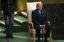 Le président Donald Trump peu de temps avant son intervention devant l'Assemblée générale des Nations unies, le 19 septembre, à New York.