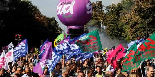 L'union des syndicats Solidaires (SUD) fait partie des syndicats organisateurs de la manifestation de jeudi 21 septembre.
