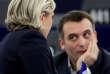 «Devant son poste, on se demandait qui était le journaliste et qui était l'homme politique» (Marine Le Pen et Florian Philippot le 17 janvier).