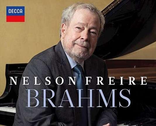 Pochette de l'album consacré à Brahms par Nelson Freire (piano).