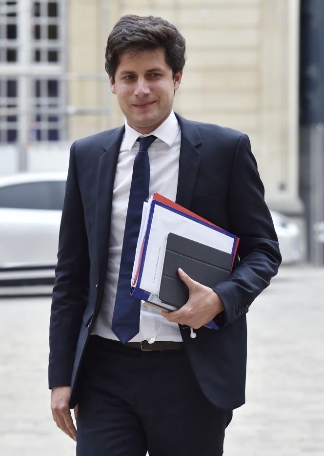 Julien Denormandie, secrétaire d'Etat à la cohésion des territoires, à Paris, le 11 septembre.