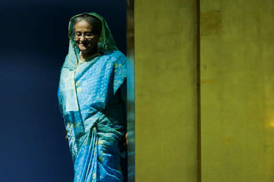 Sheikh Hasina a alerté la communauté internationale sur la situation au Bangladesh à la tribune de l'ONU, jeudi 21 septembre.