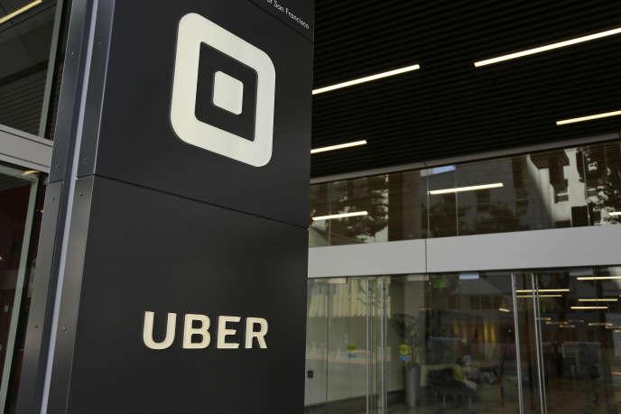 «C'est là tout le génie de l'ubérisation et ce qui en fait un phénomène fondamentalement post-capitaliste : ces entreprises ont dépassé le clivage possédant - travailleur». (Photo : le siège d'Uber à San Francisco, en juin).