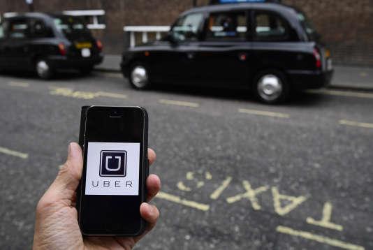 Uber à Londres, le 28 octobre 2016.