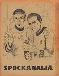 Le second numéro du fanzine «Spocknalia».